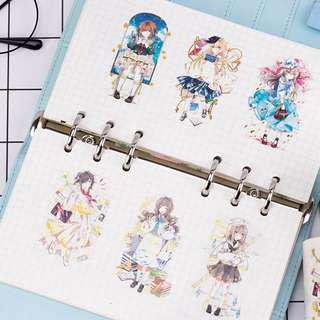 (PO) *Premium* School Girl Washi Tape