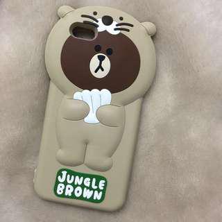 Jungle Brown iPhone 6+ Case