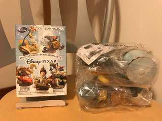 絕版 Disney Pixar formation arts figure 公仔 五星級大鼠 ratatouille