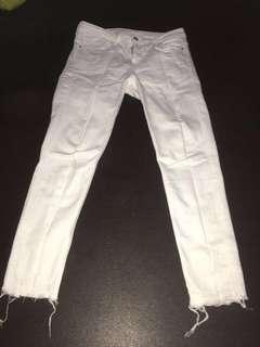 Zara Jeans White (ORI)