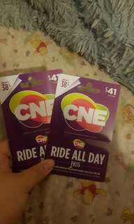 2 CNE Ride All Day Pass