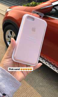 apple silicone pink sand