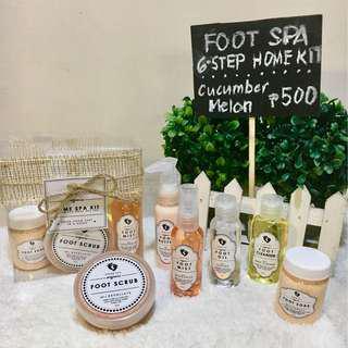 Foot Spa: 6-Step Home Kit (CM)