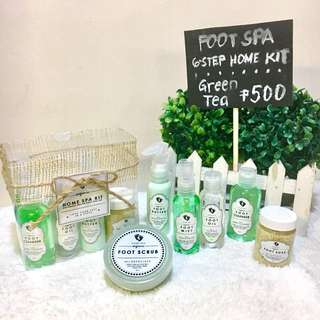 Foot Spa: 6-Step Home Kit (GT)