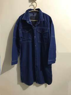 女裝L-4XL長身外套