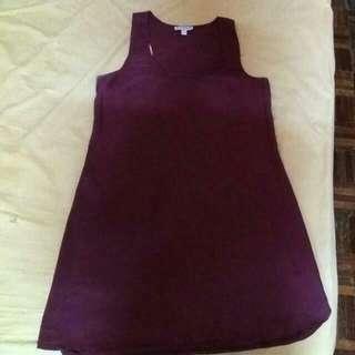 COTTON ON sleeveless satin dress 💘