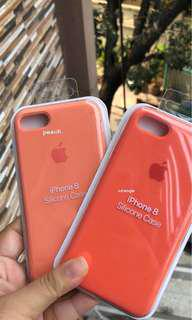apple silicone peach/orange