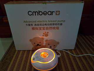 CMBear Double Breast Pump