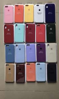 apple silicone colors
