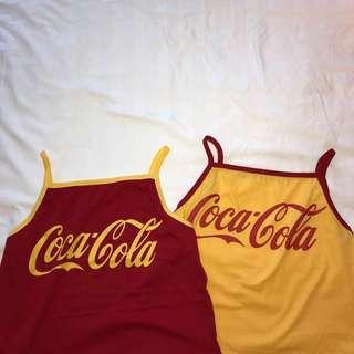 instock coca cola tank top