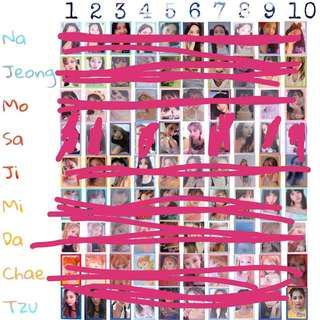 (WTB) want to buy Summer Night Sana Photocard