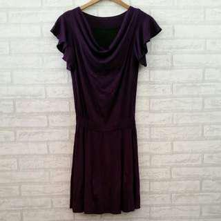 Dress Spandeks Ungu