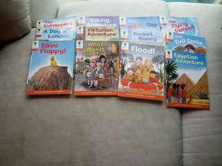 Oxford Reading Tree level 8  Total 12 books