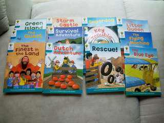 Oxford Reading Tree level 9 Total 12 books