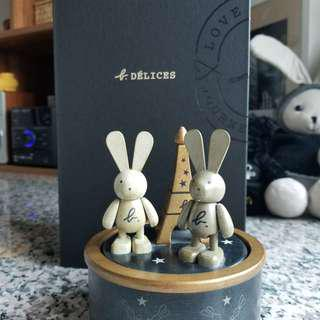 Agnes b 兔仔 擺設 送禮