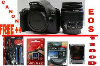 Canon 1300D bisa di cicil proses cepat 3 menit
