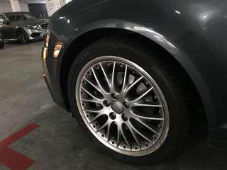 "BBS Speedline rims 2-piece RS861 5x112 18"" for VW AUDI"