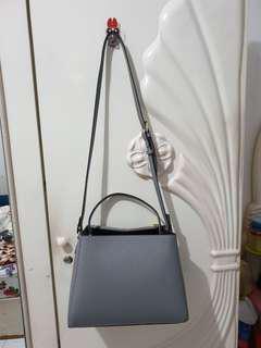 Zara Ori di toko Zara Grey Square Bag.