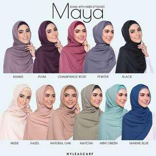 Instock Authentic Maya by Nyleascarf