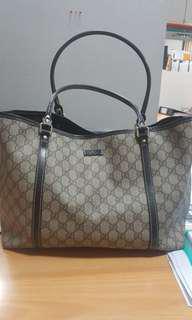 REPRICE Authentic Gucci Tote Bag