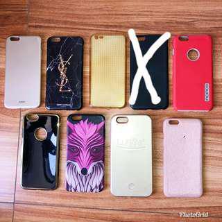Iphone 6+ cases (set)