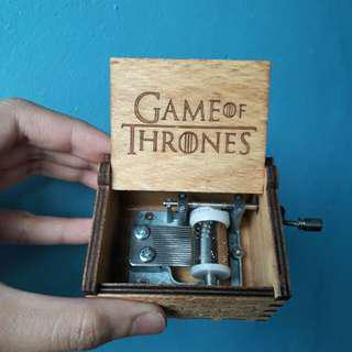 Game of Thrones Themed Hand Cranked Music Box