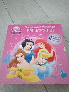 Disney wonderful world of princesses