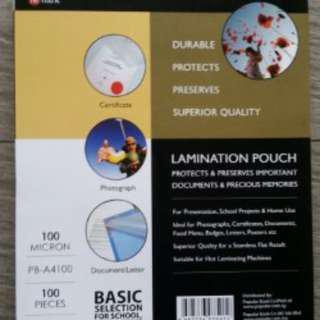 Lamimating Pouch, A4 Size