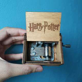 Harry Potter Themed Hand Cranked Music Box