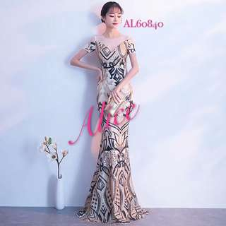 Mermaid dress/ evening gown/ gaun pesta