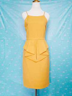 Doublewoot Mustard Dress (XL)