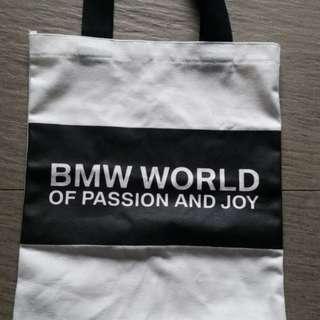 Fabric Tote Bag, White