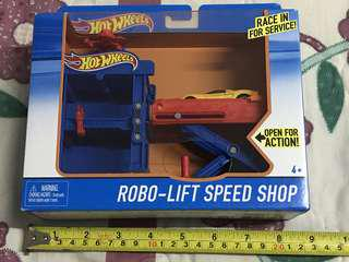Robo-lift speed shop