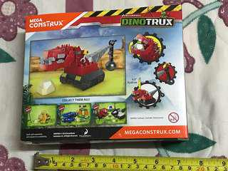 Ty rux trail smash dinotrux 37pcs.