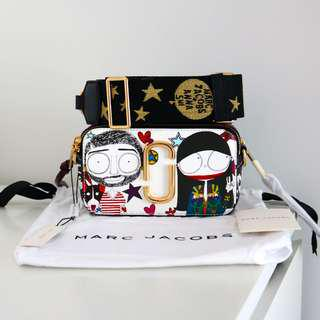 Marc Jacobs Anna Sui collaboration Snapshot bag