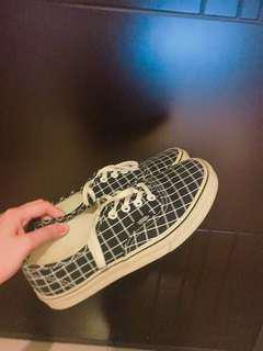 Vans 格子 板鞋