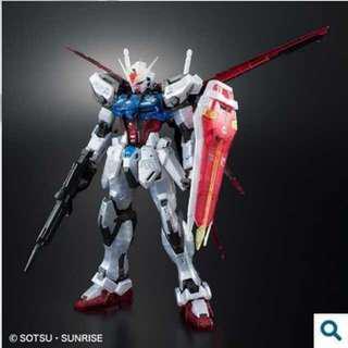 Gundam MG 1/100 ガンダムベース限定 エールストライクガンダム Ver.RM [クリア