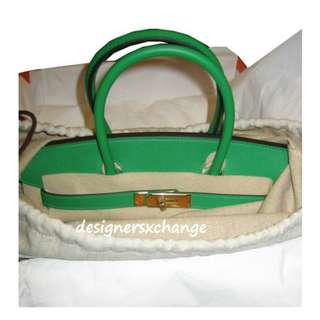 2c2b3e713831 Hermes Birkin 30 Bamboo Epsom with Gold Hardware Brand NEW (R stamp with Hermes  Receipt