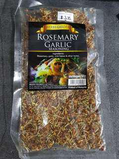 Rosemary Garlic Seasoning - Rosemary Chilli Garlic & Herbs. 10/ 2019 exp