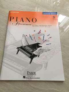 Piano adventures book 2B