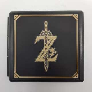 🚚 [In Stock] 12-in-1 Plastic Nintendo Switch Cartridge Holder with Zelda Breath of the Wild Design