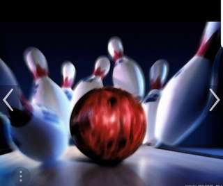 Bowling Bowl wz red bowling bag. can nego