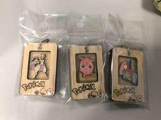 Pokémon keychains