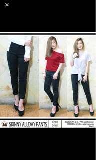 Skinny Pants Celana Bahan Kantor Formal Kerja