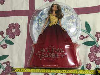 Holiday barbie 2016 brunette