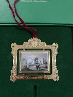 Souvenir The White House Christmas USA