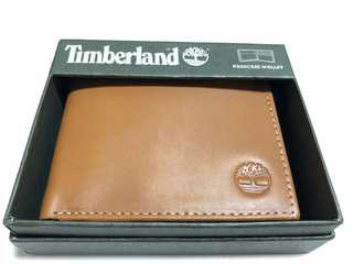 Timberland 真皮銀包 美國入口