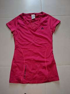 Adidas Clima cool sports Tops bright pink