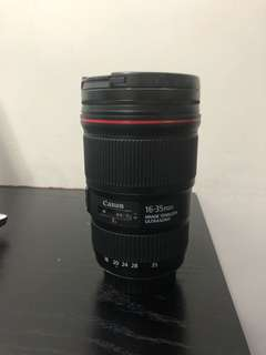 Used Ultra Wide Zoom Lens