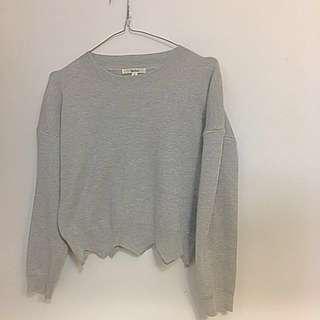 Cute grey sweater/jumper size S